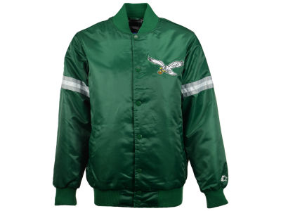 Philadelphia Eagles GIII NFL Men's Starter Satin Jacket
