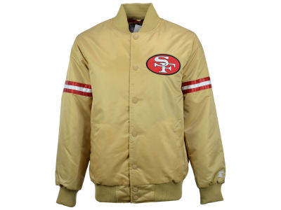 San Francisco 49ers GIII NFL Men's Starter Satin Jacket