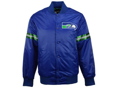 Seattle Seahawks GIII NFL Men's Starter Satin Jacket