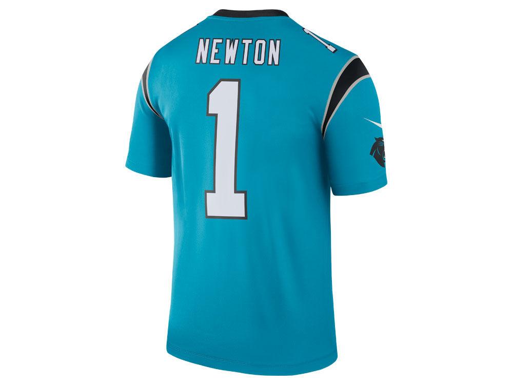 Carolina Panthers Cam Newton Nike NFL Men s Legend Color Rush Jersey ... 9ec13e1e8