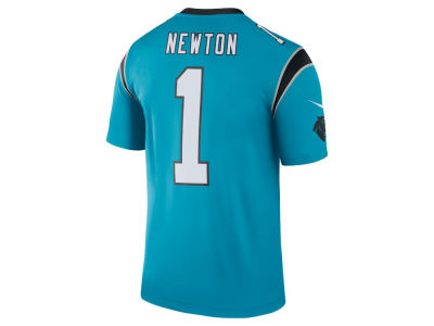 Carolina Panthers Cam Newton Nike NFL Men's Legend Color Rush Jersey