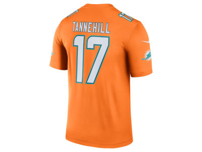 Miami Dolphins Ryan Tannehill Nike NFL Men's Legend Color Rush Jersey