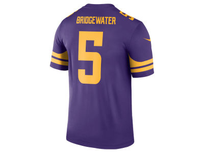 Minnesota Vikings Teddy Bridgewater Nike NFL Men's Legend Color Rush Jersey