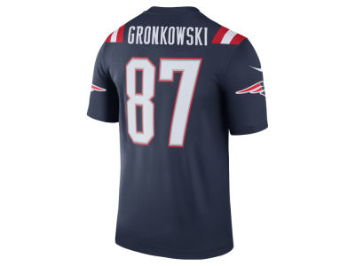 New England Patriots Rob Gronkowski Nike NFL Men's Legend Color Rush Jersey