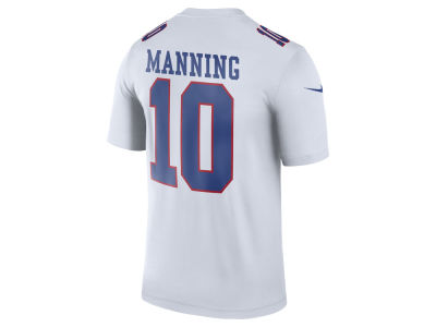 New York Giants Eli Manning Nike NFL Men's Legend Color Rush Jersey