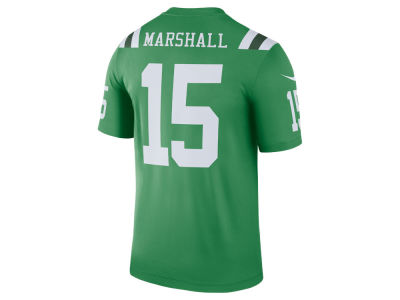 New York Jets BRANDON MARSHALL Nike NFL Men's Legend Color Rush Jersey