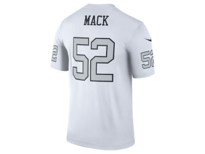 Oakland Raiders Khalil Mack Nike NFL Men's Legend Color Rush Jersey