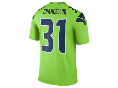 Seattle Seahawks Kam Chancellor Nike NFL Men's Legend Color Rush Jersey