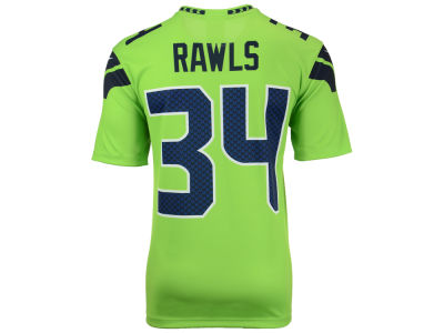 Seattle Seahawks Thomas Rawls Nike NFL Men's Legend Color Rush Jersey