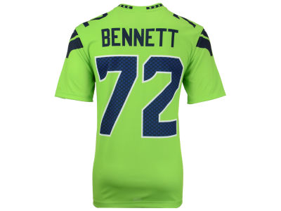 Seattle Seahawks Michael Bennett Nike NFL Men's Legend Color Rush Jersey