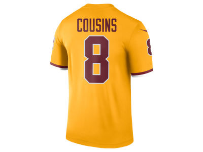 Washington Redskins Kirk Cousins Nike NFL Men's Legend Color Rush Jersey