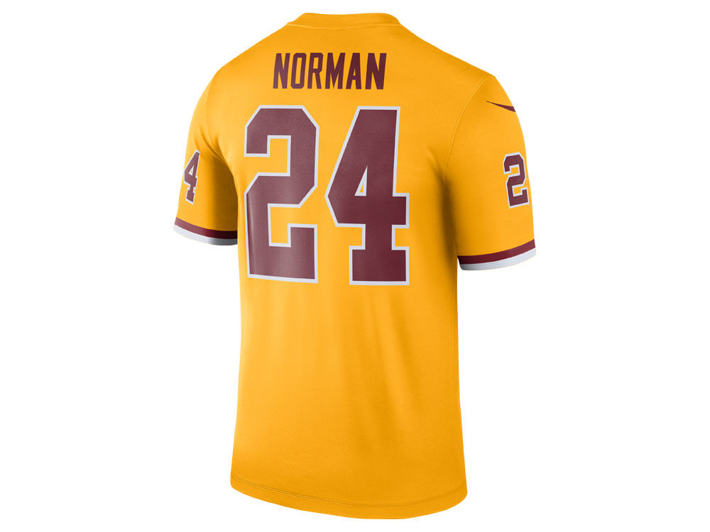 a28d26640 Washington Redskins Josh Norman Nike NFL Men s Legend Color Rush Jersey
