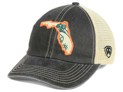 Miami Hurricanes Top of the World NCAA Heritage Collection Mesh Trucker Cap