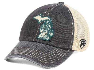 Michigan State Spartans Top of the World NCAA Heritage Collection Mesh Trucker Cap