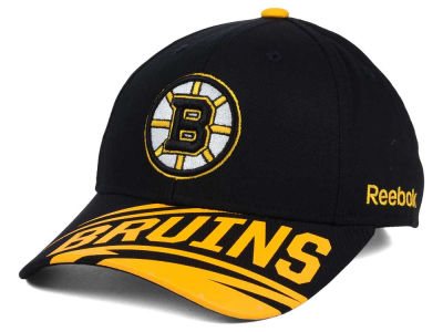 Boston Bruins Reebok NHL Youth Left Wing Adjustable Cap