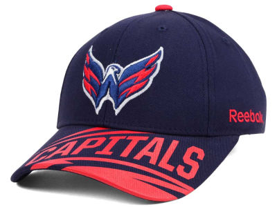 Washington Capitals Reebok NHL Youth Left Wing Adjustable Cap