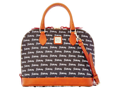 Miami Marlins Dooney & Bourke Zip Zip Satchel