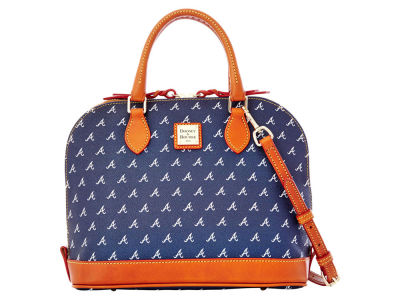 Atlanta Braves Dooney & Bourke Zip Zip Satchel