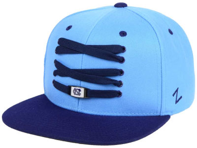 North Carolina Tar Heels Zephyr NCAA BB Lacer Snapback Cap