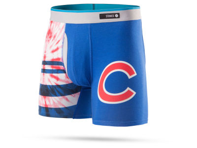 Chicago Cubs Stance MLB Men's Tie Dye Underwear