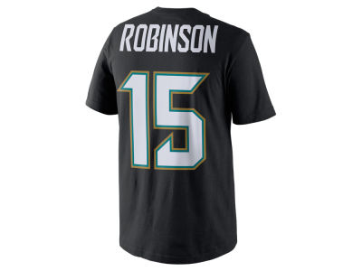 Jacksonville Jaguars Allen Robinson Nike NFL Men's Pride Name and Number T-Shirt