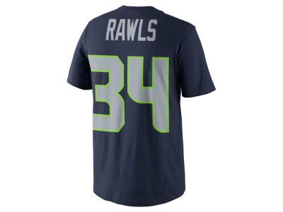 Seattle Seahawks Thomas Rawls Nike NFL Men's Pride Name and Number T-Shirt