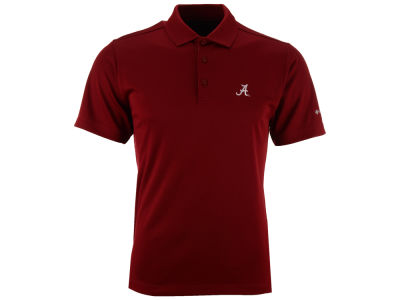 Alabama Crimson Tide Columbia NCAA Men's Round One Polo Shirt
