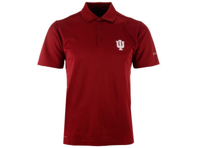 Indiana Hoosiers Columbia NCAA Men's Round One Polo Shirt