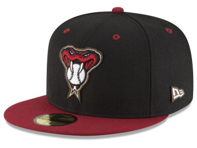 Arizona Diamondbacks New Era MLB Classic Leather Outline 59FIFTY Cap