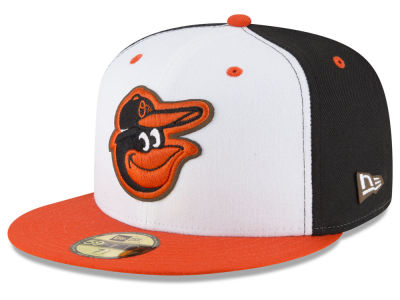 Baltimore Orioles New Era MLB Classic Leather Out 59FIFTY Cap
