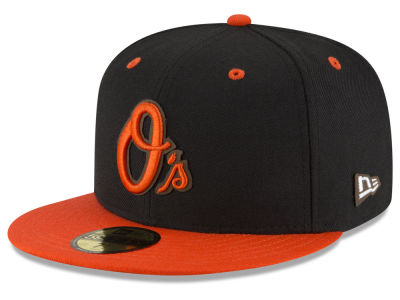Baltimore Orioles New Era MLB Classic Leather Outline 59FIFTY Cap