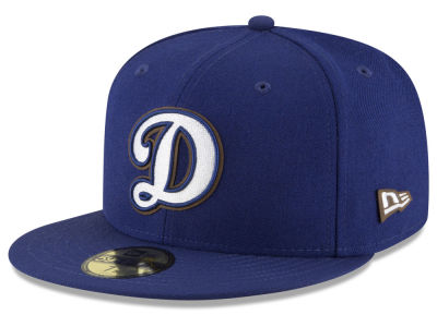 Los Angeles Dodgers New Era MLB Classic Leather Outline 59FIFTY Cap