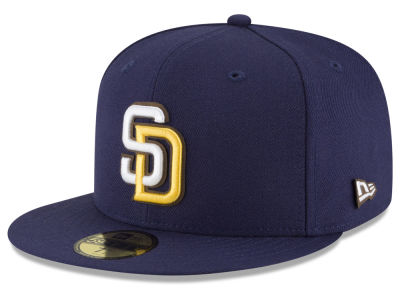 San Diego Padres New Era MLB Classic Leather Out 59FIFTY Cap