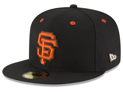 San Francisco Giants New Era MLB Classic Leather Outline 59FIFTY Cap