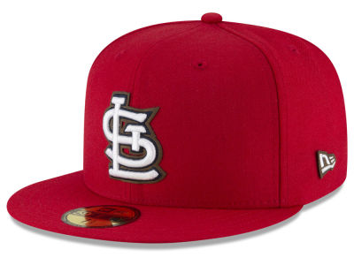 St. Louis Cardinals New Era MLB Classic Leather Out 59FIFTY Cap