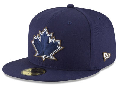 Toronto Blue Jays New Era MLB Classic Leather Out 59FIFTY Cap