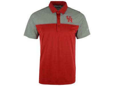 Houston Cougars Columbia NCAA Men's First Nine Polo Shirt