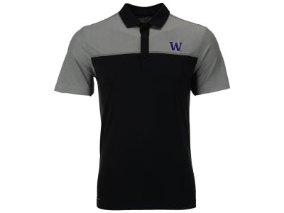 Washington Huskies Columbia NCAA Men's First Nine Polo Shirt