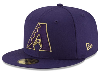 Arizona Diamondbacks New Era MLB Team On Metallic 59FIFTY Cap