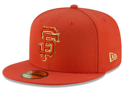 San Francisco Giants New Era MLB Team On Metallic 59FIFTY Cap