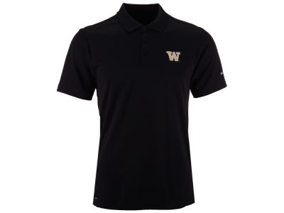 Washington Huskies Columbia NCAA Men's Round One Polo Shirt