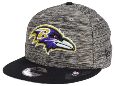 Baltimore Ravens New Era NFL Blurred Trick 9FIFTY Snapback Cap
