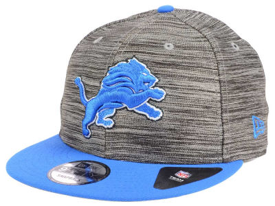 Detroit Lions New Era NFL Blurred Trick 9FIFTY Snapback Cap