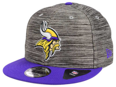 Minnesota Vikings New Era NFL Blurred Trick 9FIFTY Snapback Cap