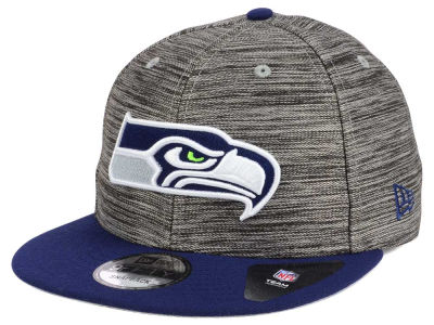 Seattle Seahawks New Era NFL Blurred Trick 9FIFTY Snapback Cap