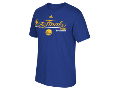 Golden State Warriors adidas NBA Men's Locker Room Conference Champ T-Shirt