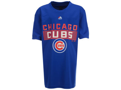 Chicago Cubs Majestic MLB Youth Block T-Shirt