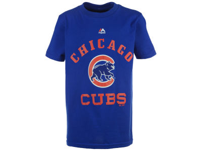 Chicago Cubs Majestic MLB Youth Local T-Shirt