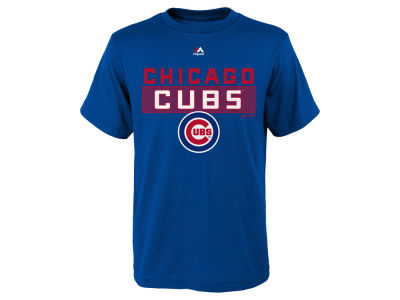 Chicago Cubs MLB Kids Block T-Shirt
