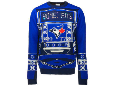 Toronto Blue Jays MLB Men's Light Up Ugly Sweater
